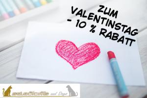 Valentinstag-Rabatt